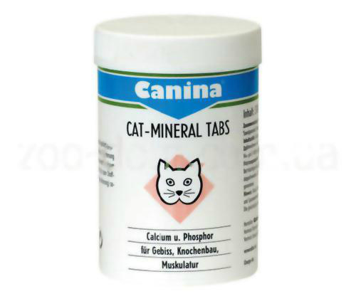 витамины Cat-Mineral Tabs
