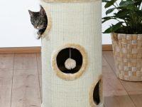 Как сделать красивый домик для кошки своими руками?