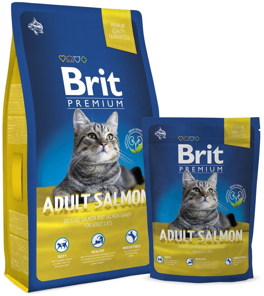 корм премиум для кошек